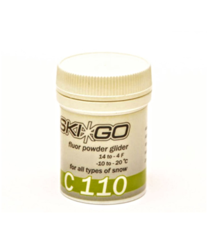 Воск SkiGo Fluor Powder C110