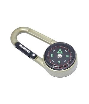 Брелок Munkees 3135 карабин Compass with Thermometer