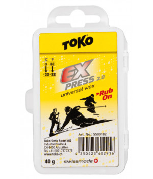 Воск Toko Express Blocx Rub On 30g