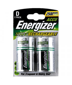 Аккумулятор Energizer Rechargeable D 2500мАч