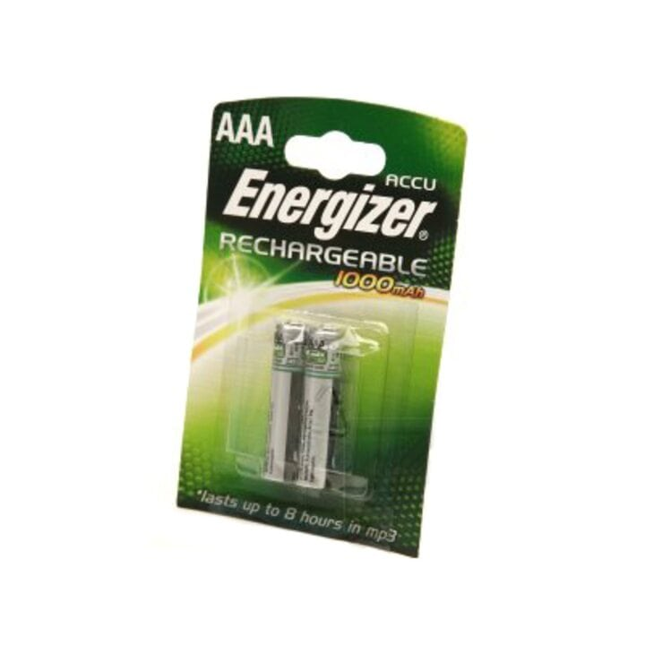 Аккумулятор Energizer Rechargeable AAA 1000мАч