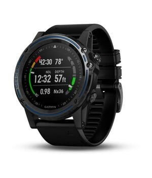 Декомпресиметр Garmin Descent MK1 Titanium w/silicone band