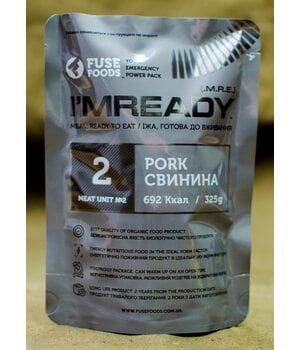 Тушенка Свинина 325г в собственном соку FUSE Foods I`MREADY